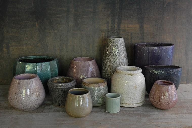 Decoracion Jarrones De Barro ~ seleccion de jarrones de barro esmaltado